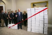 Bloomberg Photo Donald Trump Deregulatory Event