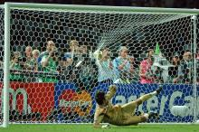 Italian national team goalkeeper Gianluigi Buffon during the 2006 FIFA World Cup.