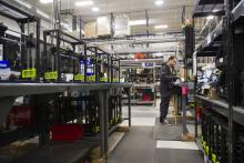 The Aleph Objects LulzBot 3D printers production facility in Loveland, CO.