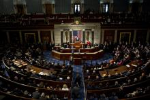 The House of Representatives Chamber at the U.S. Capitol.