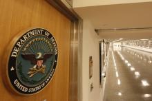 A corridor at the Pentagon.