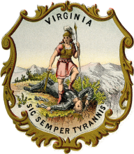 Virginia coat of arms