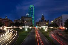 Dealey Plaza in Dallas, Tex.