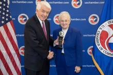 Tom Donohue and Representative Virginia Foxx (NC-05)