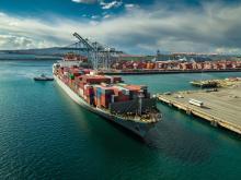 Global Trade, port in California