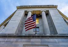 U.S. Department of Justice building in Washington, D.C.