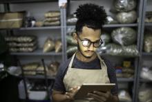 Small businesses and technology