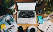 Laptop; remote work