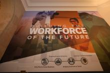 """The """"Building the Workforce of the Future"""" Display"""