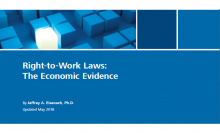 Right to Work Law: The Economic Evidence