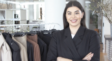 Lauren Chan, founder and CEO of Henning, a luxury fashion brand made in New York for sizes 12 and up.