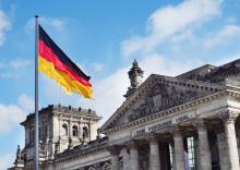 Platz der Republik, Berlin, Germany.
