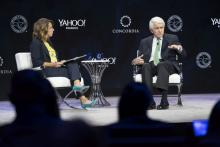 U.S. Chamber CEO Tom Donohue interviewed by Yahoo Finance's Julie Hyman at the 2019 Concordia Summit.