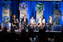 Speakers discuss wellness at the U.S. Chamber Foundation's Ignite Wellness Summit.