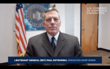 General Paul Ostrowski, director of supply, production and distribution for Operation Warp Speed.