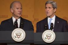 Biden and Kerry