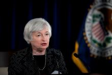 Janet Yellen, Federal Reserve chair.
