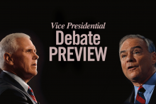 2016 Vice Presidential Debate Preview: Mike Pence and Tim Kaine