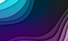 Workforce Initiative abstract purple banner