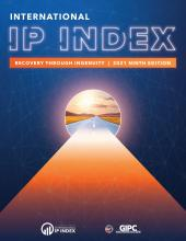 The 2021 IP Index Report Cover