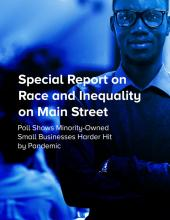 Special Poll Cover - Minority Owned Businesses Suffer in Pandemic