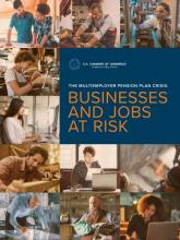 Businesses and Jobs at Risk Report Cover Graphic