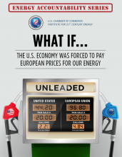 What if... The United States was Forced to Pay EU Energy Prices?