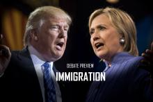 Trump vs. Clinton debate preview: Immigration.