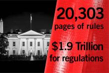 The White House has approved thousands of pages and trillions of dollars in regulations