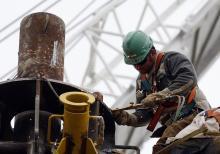 U.S. oil worker