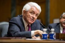 U.S. Chamber of Commerce President and CEO Tom Donohue testifies before the Senate Finance Committee on Trade Promotion Authority and trade policy.