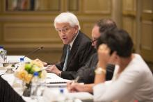 U.S. Chamber President and CEO Tom Donohue speaks at the U.S.-Mexico CEO Dialogue.