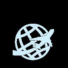 Icon symbolizing international events
