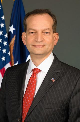 U.S. Labor Secretary Acosta - headshot