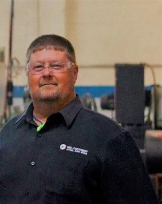 Chris Pratt is the Operations General Manager at Mid Continent Steel & Wire, Inc., based in Poplar Bluff, Missouri.