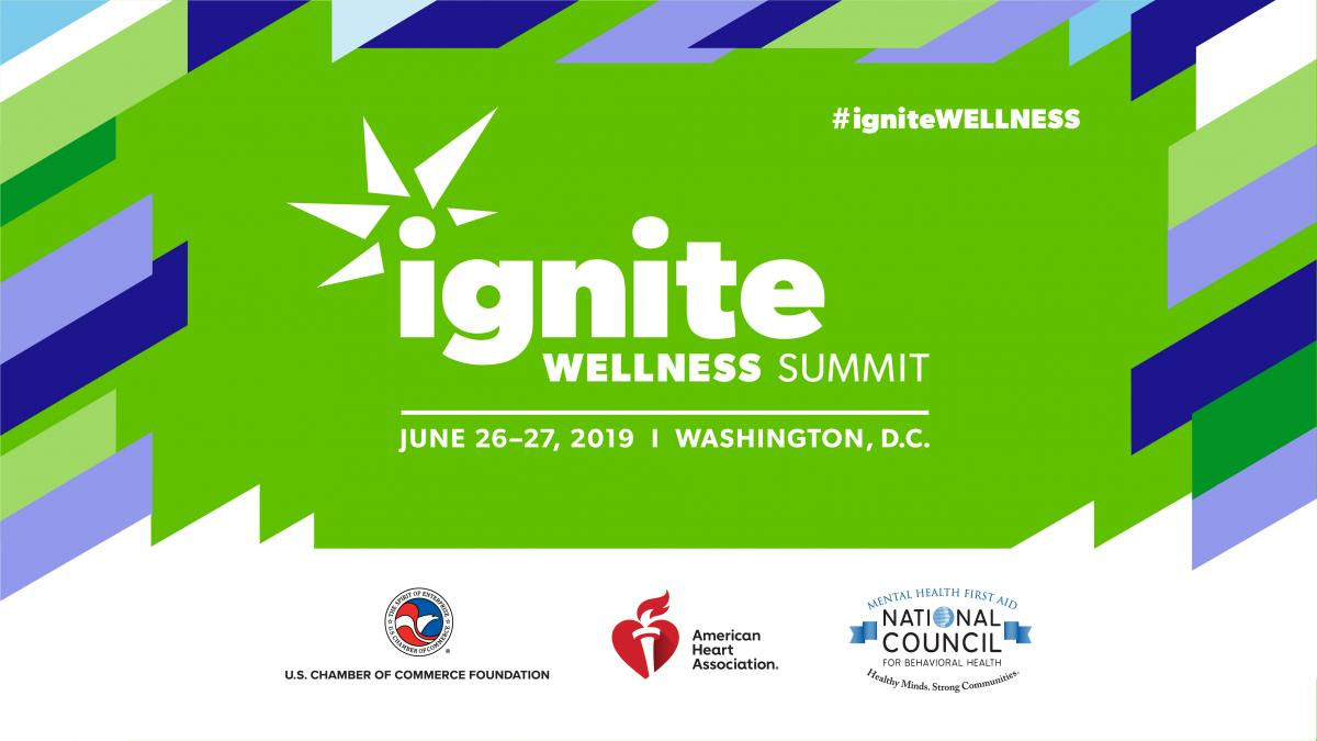 Key Graphic for Ignite Wellness 2019