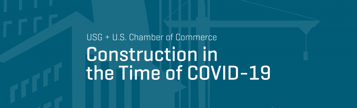 Construction in the Time of COVID-19 webinar event graphic