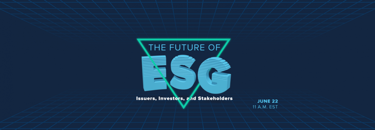 Future of ESG background