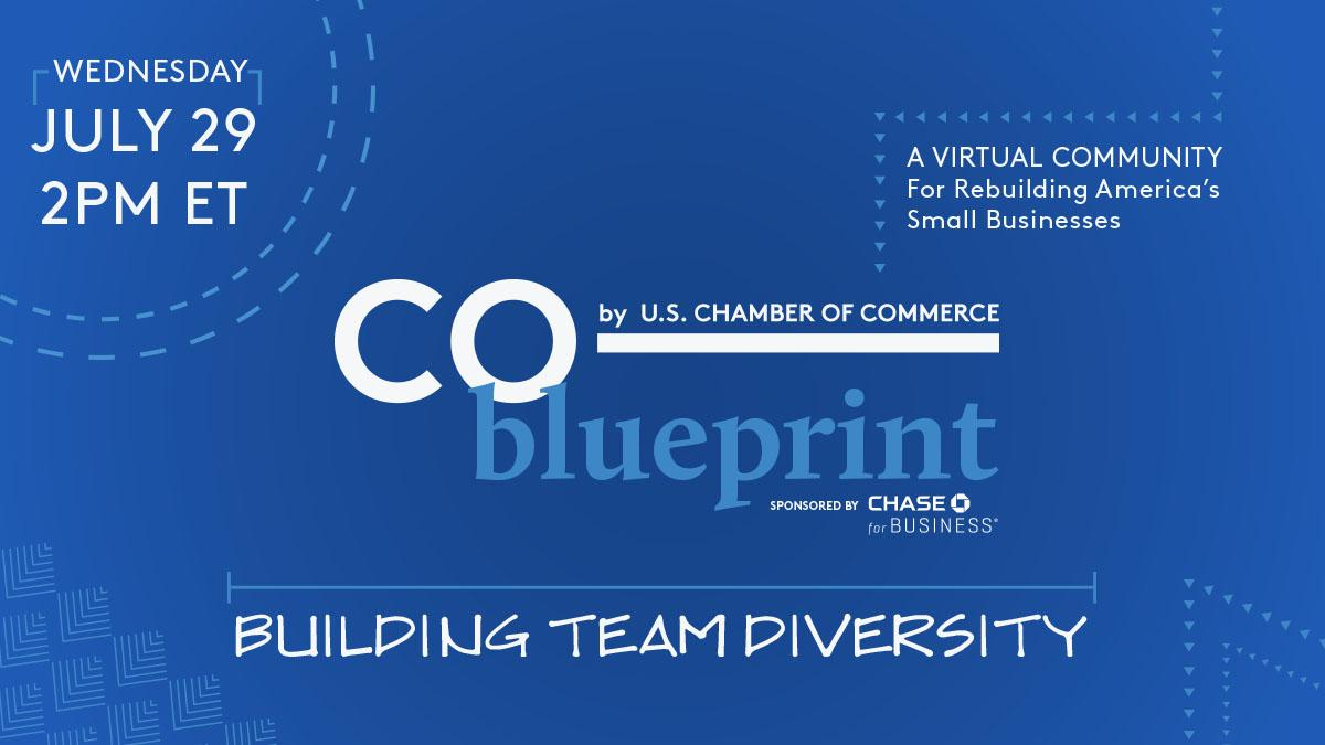 Register today for CO— Blueprint: Growing an Inclusive Team on 7/29