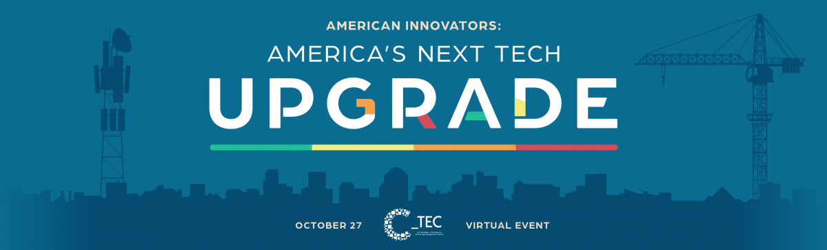 American Innovators Event Graphic - October 27th