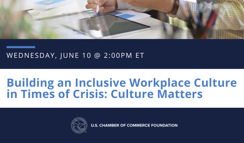 Register today for Building an Inclusive Workplace in Times of Crisis