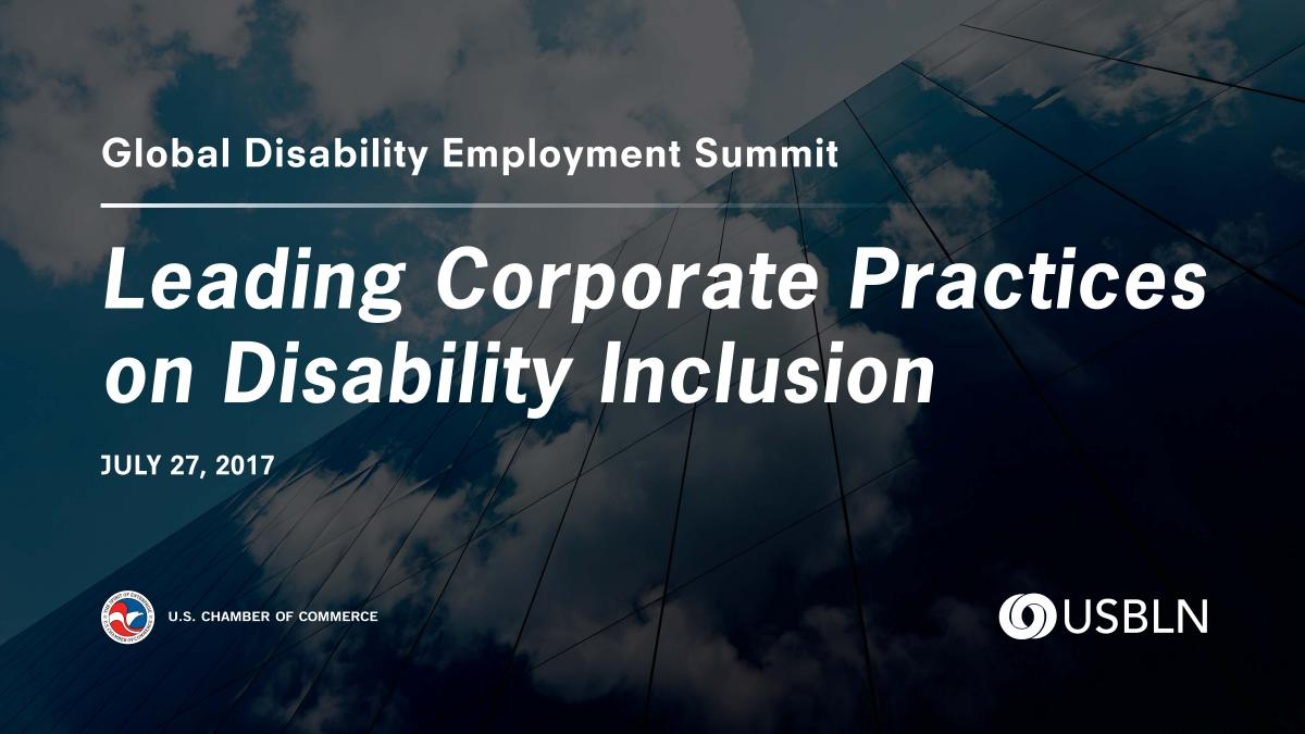 Disability Employment Event Graphic