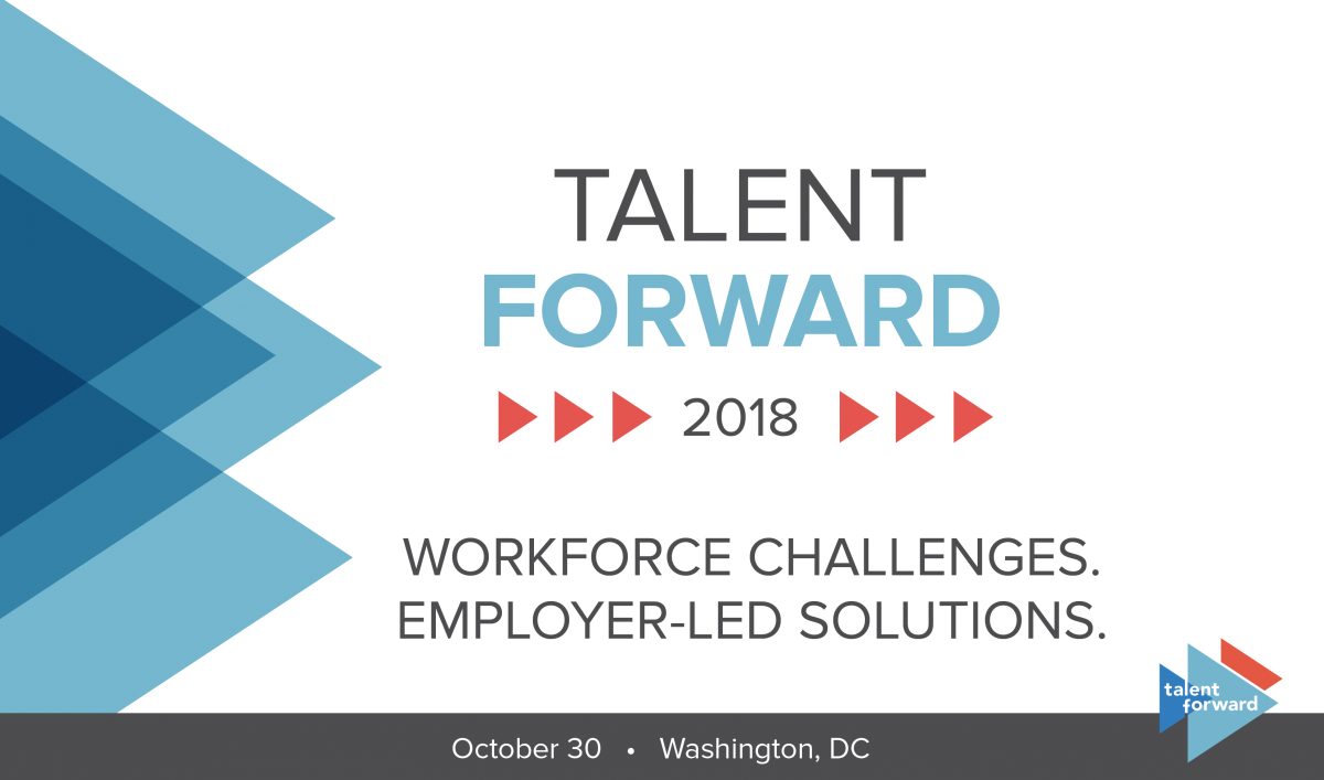 Key Graphic for Talent Forward 2018