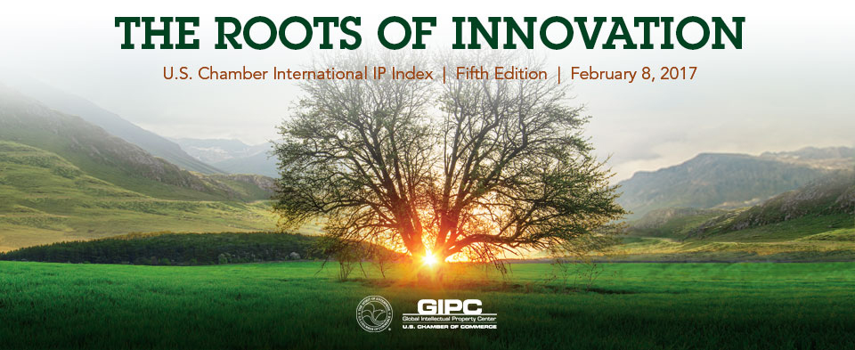GIPC IP Index Roots of Innovation event banner