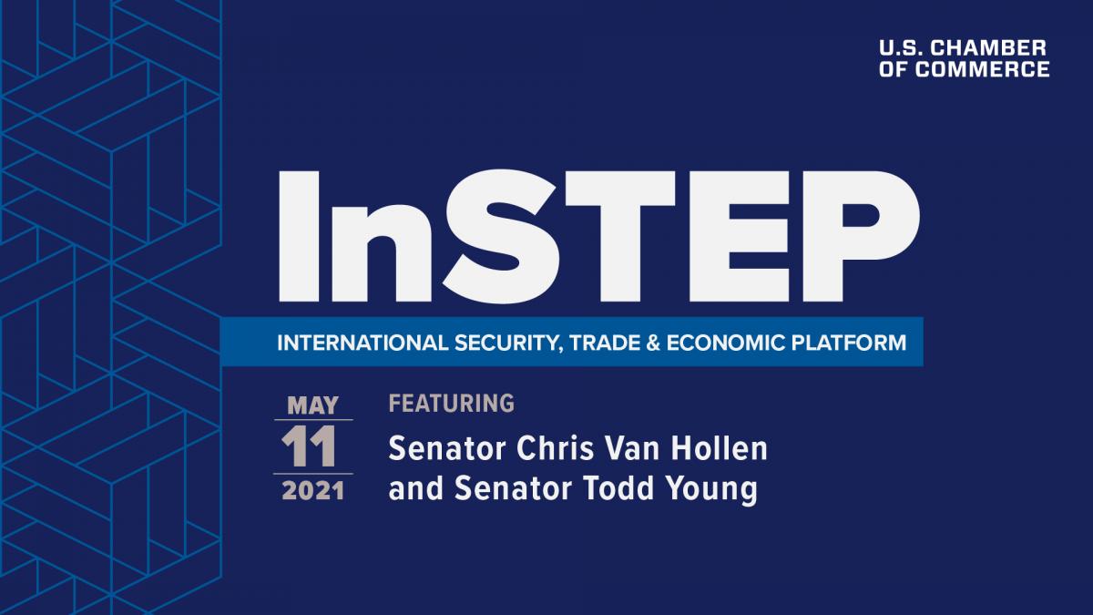 Virtual InSTEP Discussion featuring Senator Chris Van Hollen and Senator Todd Young