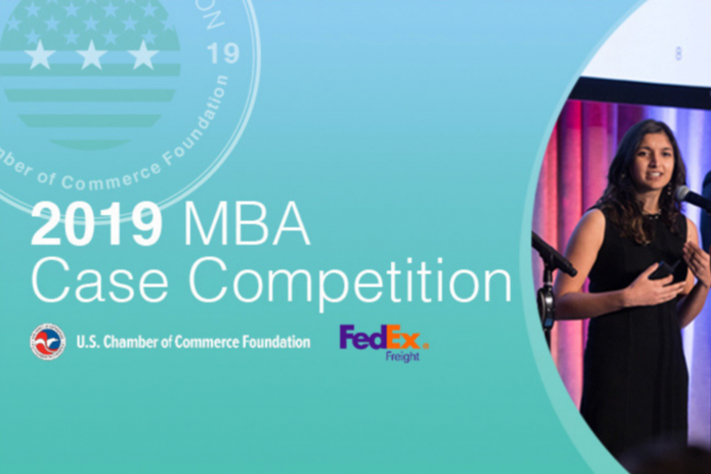 MBA Case Competition Promo Graphic