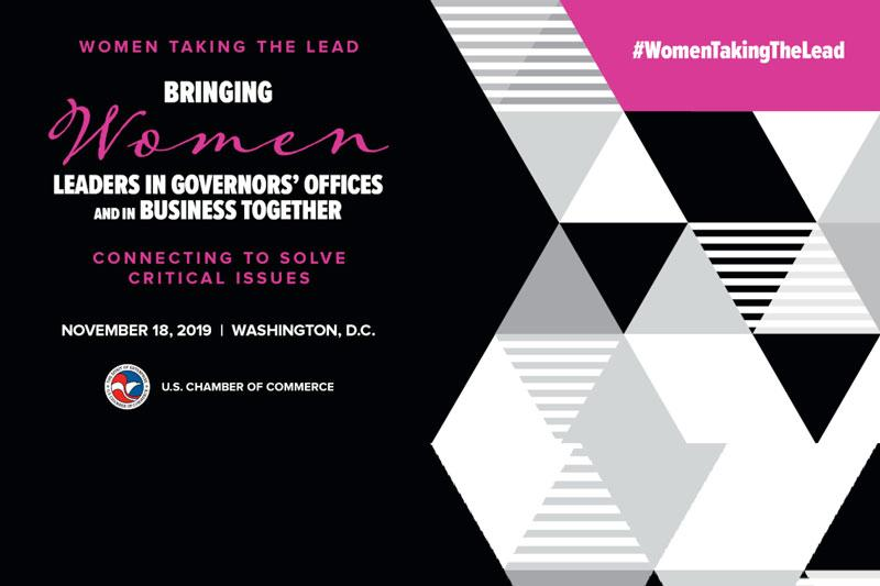 Women Taking the Lead Event Graphic