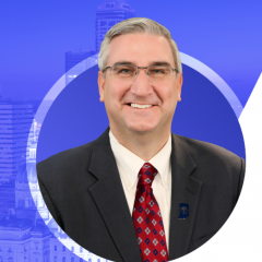 Eric Holcomb is American the 51st governor of Indiana