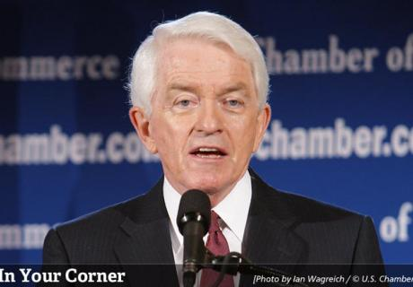 Thomas J. Donohue, President and CEO, U.S. Chamber of Commerce