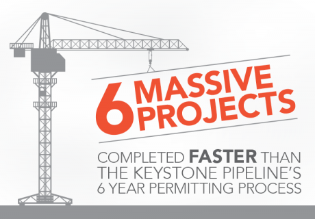 """Image of a crane holding text of """"6 Massive Projects"""""""